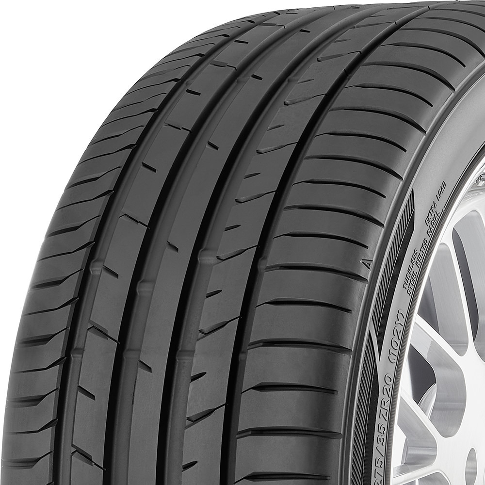 Toyo Proxes Sport tread and side